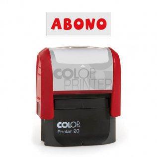 Sello automático Colop Printer 20 Rojo - Abono