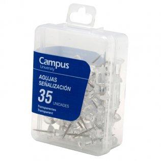 Señalizadores Campus University Transparente (35ud/caja)