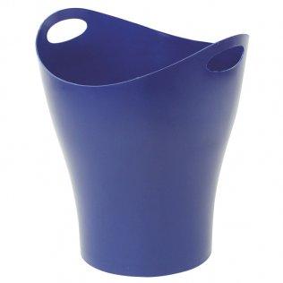 Papelera material reciclado Azul 14 L Makro Paper