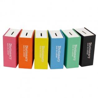Hucha Libro diseño diccionario Makro Paper