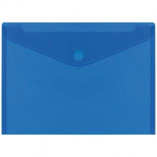 Sobre 2030 A4+ PP azul velcro apaisado Plus Office