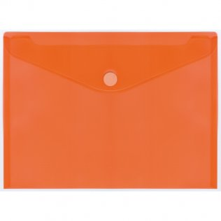Sobre 2030 A4+ PP naranja velcro apaisado Plus Office