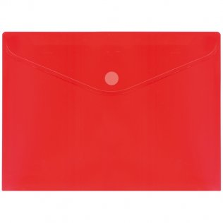 Sobre 2030 A4+ PP rojo velcro apaisado Plus Office