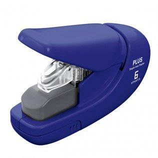 Grapadora sin grapas PLUS azul