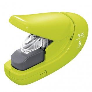 Grapadora sin grapas PLUS verde