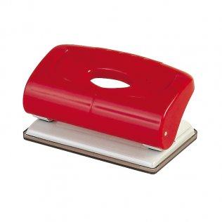 Perforador sobremesa Plus Office 160 Rojo