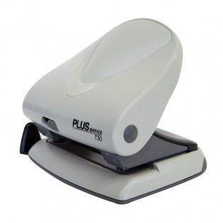 Perforador sobremesa Plus Office T30 Gris claro