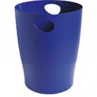 Papelera Ecobin 15 litros azul noche Exacompta