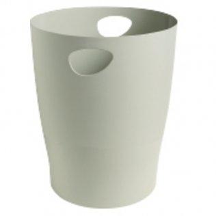 Papelera Ecobin 15 litros gris Exacompta