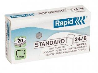 Grapas Rapid Standard 24/6 Galvanizadas (1000ud/caja)
