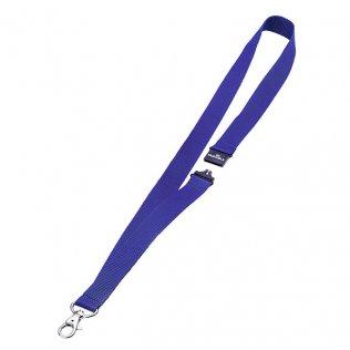 Cinta portanombres azul 44x2cm Durable