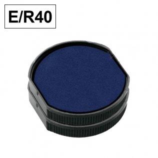 Almohadillas Colop E/R40 para Printer Redondo Azul