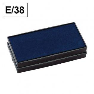 Almohadillas Colop E/38 Azul para Printer 38 rectangular