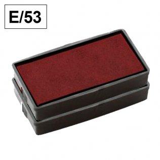 Almohadillas Colop E/53 Rojo para Printer 53 rectangular