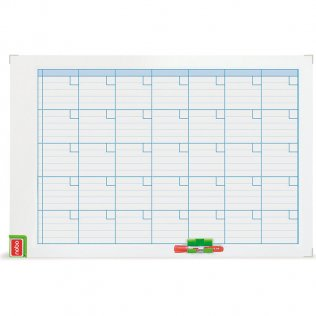 Planning Magnético Nobo Performance Mensual 900x600mm