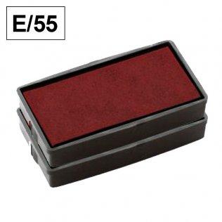 Almohadillas Colop E/55 Rojo para Printer 55 rectangular