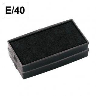 Almohadillas de recambio Colop para Printer 40 Negra