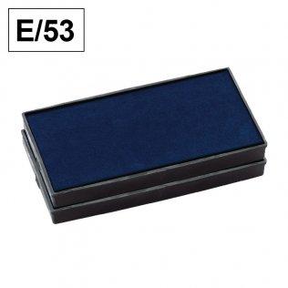 Almohadillas Colop E/53 Azul para Printer 53 rectangular