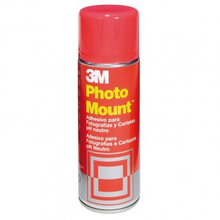 Pegamento Spray Photo Mount 3M permanente 400 ml