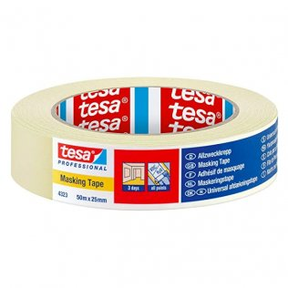 Cinta adhesiva Tesa Masking Tape 25mm x 50m