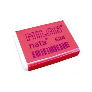 Goma de borrar Milan Nata 624 / caja 24 ud