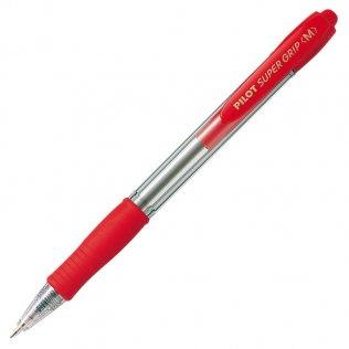 Bolígrafo Pilot Super Grip Rojo 0,4 mm