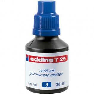 Tinta Rotulador edding T-25 Azul 30 ml