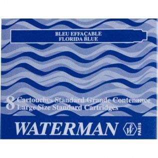 Tinta Estilográfica Waterman Azul Florida 8 ud