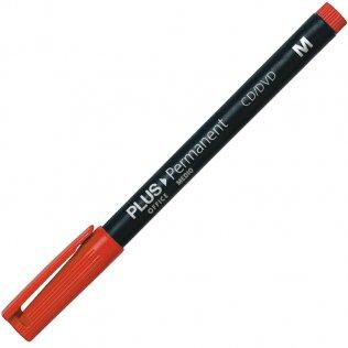 Rotulador Permanente Plus Office Rojo M 1 mm