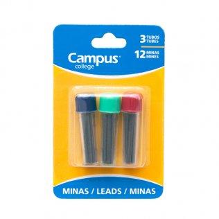 Minas Campus College para Compás Blíster 3 tubos
