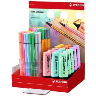 Expositor Stabilo Pastel surtido (Boss + Point 88 + Pen 68)