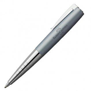 Bolígrafo Faber-Castell Loom Metallic Azul Celeste