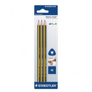 Lápices de grafito Staedtler Noris 120 HB blíster 3 ud