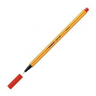 Rotulador Stabilo Point 88 Rojo 0,4 mm