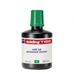 Tinta Rotulador edding T-100 Verde 100 ml
