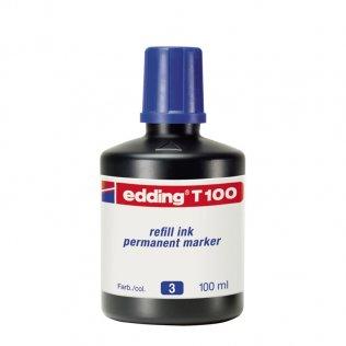 Tinta Rotulador edding T-100 Azul 100 ml