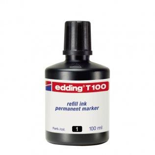 Tinta Rotulador edding T-100 Negro 100 ml