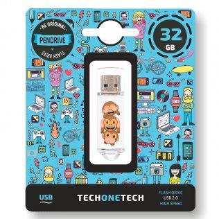 Pen drive Tech1Tech 32 GG Monkey