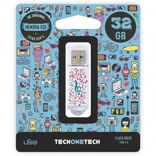 Pen drive Tech1Tech 32 GB Music Dream