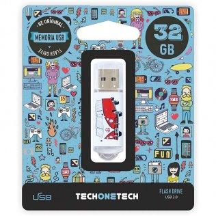 Pen drive Tech1Tech 32 Gb Camper Van-Van