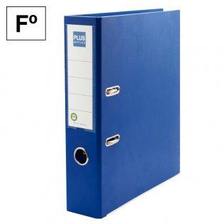 Archivador Rado Azul Fº lomo 75mm Plus Office