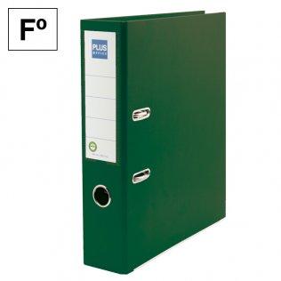 Archivador Rado Verde Fº lomo 75mm Plus Office