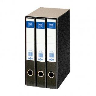 Módulo 3 archivadores 1333 Negro Plus Office