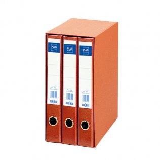Módulo 3 archivadores 1333 Rojo Plus Office
