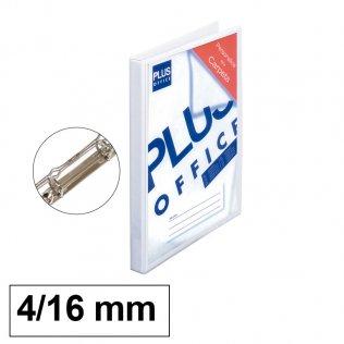 Carpeta Personalizable 4 anillas 16mm PVC Plus Office