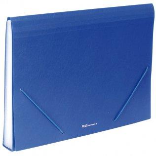Carpeta clasificadora A4 Azul opaco Plus Office