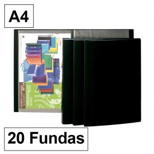 Carpeta Plus Office flexible A4 20 fundas