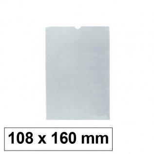 Funda PVC flexible 108 x 160 mm