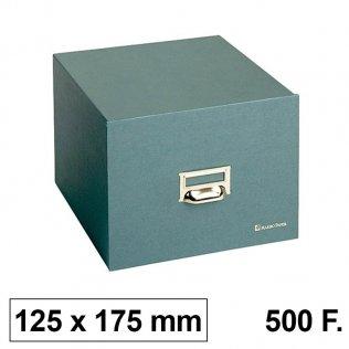 Ficheros de cartón Karman. Tamaño 125x175 para 500 fichas 100x150mm