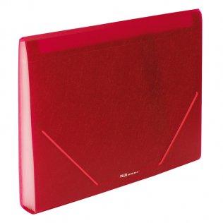 Carpeta clasificadora A4 Rojo opaco Plus Office